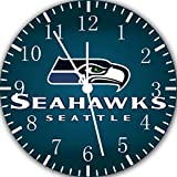Seahawks Borderless Frameless Wall Clock E406 Nice For Decor Or Gifts