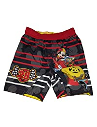 Toddler Boys Disney Mickey Mouse Roadster Racers Swim Short Trunk