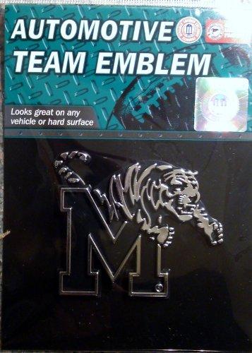 NCAA Memphis Tigers Chrome Automobile - Auto Tigers Memphis