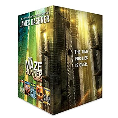 The Maze Runner Series Complete Collection Boxed Set