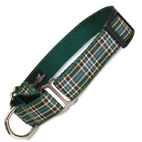 Plaid Martingale Collar, Irish national Tartan