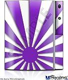 Sony PS3 Skin - Rising Sun Japanese Purple