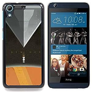 """Qstar Arte & diseño plástico duro Fundas Cover Cubre Hard Case Cover para HTC Desire 626 (Nueva Esperanza"""")"""