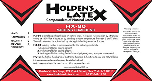 HX-80 Natural Liquid Latex Mold Making Rubber (2 Gallon Bucket) by Holden's Latex (Image #1)
