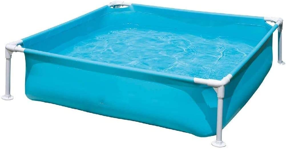Lsmaa - Mini Piscina Marco - Azul de 122 x 122 cm