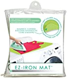 Laundry Room Countertop EZ-Iron 28 x 21 Mat By Evriholder Magnetic Ironing Surface Pad Heat Resistant Table Top