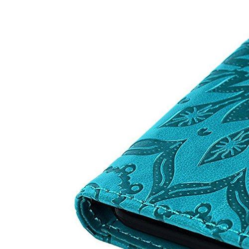 Funda para Samsung Galaxy A3 2016, Vandot Carcasa de Girasol Pavo Real de Impresión en Relieve Funda de PU Cuero Suave Carcasa Cartera con Cierre Magnético y Ranura Para Tarjetas Carcasa de Estilo Lib MTL 03