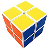 V5-Space® Shengshou 2x2x2 Intelligence Speed Puzzle Cube Ultra-Smooth Frosted Magic Cube,White