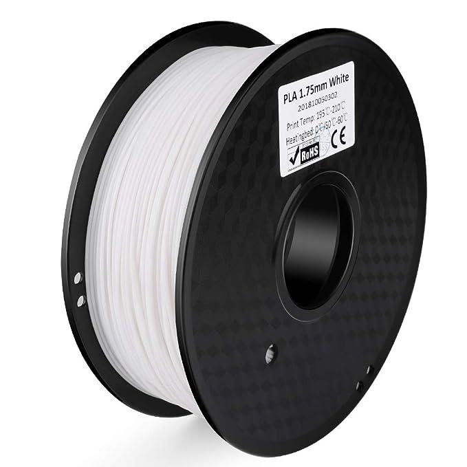 7 opinioni per ELEGOO Filamento per Stampante 3D PLA, Precisione dimensionale +/- 0,03 mm,