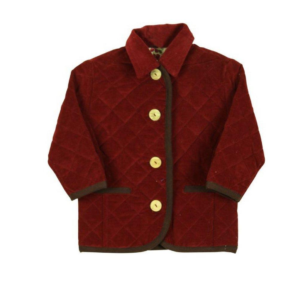Papo d' Anjo Bordaux Fine Corduroy Jacket