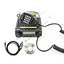 TYT TH-9000D walkie talkie vhf 136-174 mhz 60w 200ch dtmf 8 of the mobile radio scrambler TH-9000D car radio Two way radio include 1 program cable + 1CD