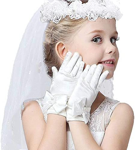 Girls First Communion Veils Gloves product image