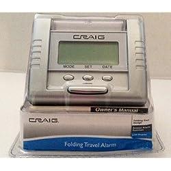 Craig Folding Travel Alarm