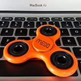 Medo Colorful Fidget Spinner Toy Stress Reducer 2017 New Creative Toys (Orange)
