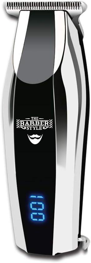 Maquina Cortapelos Original T-BLADE PRO Trimmer Cortadora Recargable pelo Barba y corporal especial barberías peluquería uso personal y profesional,Pantalla LED High powerful motor.