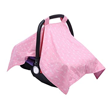 Best Baby Shower Gift For Breastfeeding Mom 4 2 In 1 Carseat Canopy And Nursing Cover