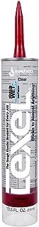 product image for Sashco 13010 10.5oz Sashco Sealants Clear Lexel Adhesive Caulk, 10.5-Ounce (3 Pack)
