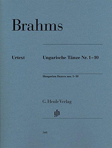 Hungarian Dances nos. 1-10 - Piano - Sheet music - ( HN 560 ) (English, German and French - Music Sheet 4 U
