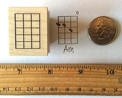 Stampola Ukulele Mandolin Banjo Chord Stamp (Medium)