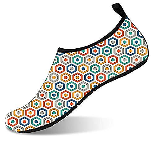 - Water Sports Shoes Barefoot Quick-Dry Aqua Yoga Socks Slip-on for Men Women gay colour bright colour 4-5.5 M US Women / 4-5 M US Men