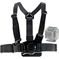 DURAGADGET Adjustable Chest Harness Mount With Quick Release-Buckle For Extreme Sports Action Camera EE 4GEE