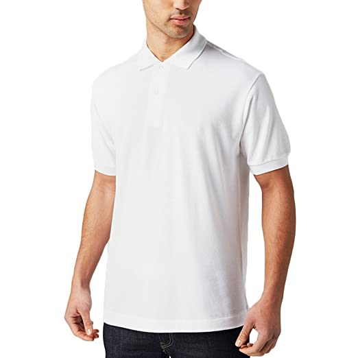 Amazon Com Just No Logo Men S Short Sleeves Regular Fit Cotton Golf
