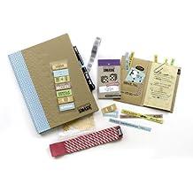 K&CompanySmash Scrapbook Folio Gift Pack, Blue