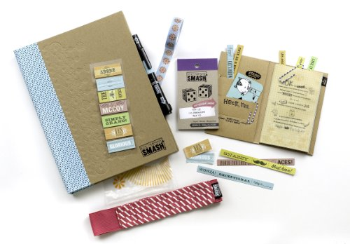 K&CompanySmash Scrapbook Folio Gift Pack, Blue by K&Company