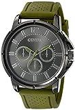 Geneva Men's FMDJM505A Analog Display Japanese Quartz Green Watch
