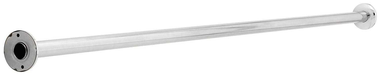 Franklin Brass 167CS-6 1-1/4-Inch by 6-Feet Steel Shower Rod, Bright stainless steel Liberty Hardware