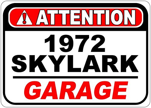 1972 72 BUICK SKYLARK Attention Garage A - Buick Garage Shopping Results