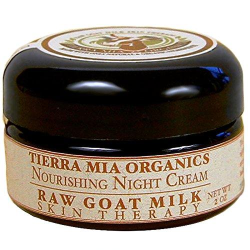 (Tierra Mia Organics Raw Goat Milk Skin Therapy Nourishing Night Cream, 2 Ounce)