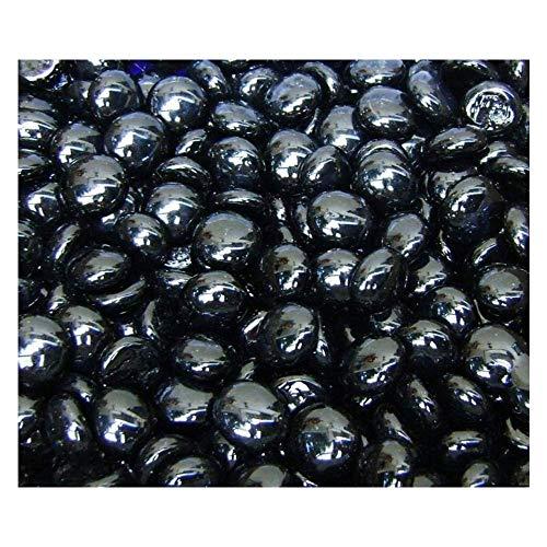 black glass gems - 5