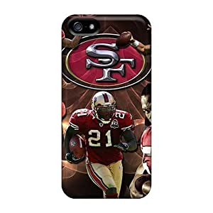 XWh4096VXgZ San Francisco 49ers Fashion Hard 5/5s Case Cover For Iphone by icecream design