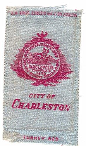 S90 - City Seal Tobacco Silks - Charleston South Carolina (Carolina Silk South)