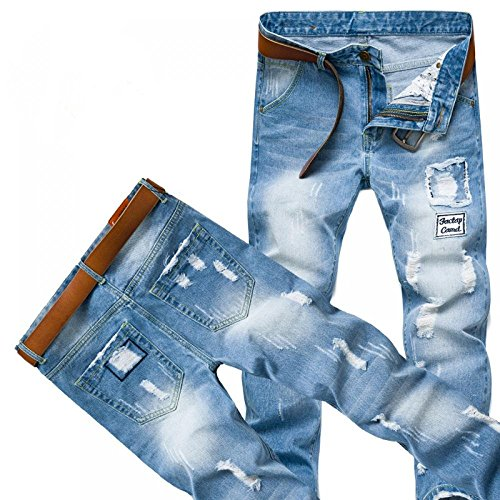 Ripped Destroyed Distressed Skinny Straigth product image