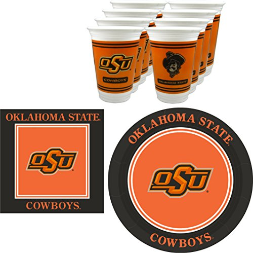 Westrick Oklahoma State Cowboys Party Pack - 48 Pieces (Serves 16)