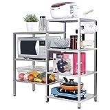 Stainless steel kitchen storage rack / shelf / multi-function oven microwave oven shelf / cupboard
