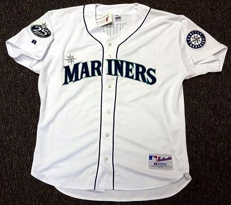Ichiro Suzuki Autographed Seattle Mariners White Russell (2002) Jersey