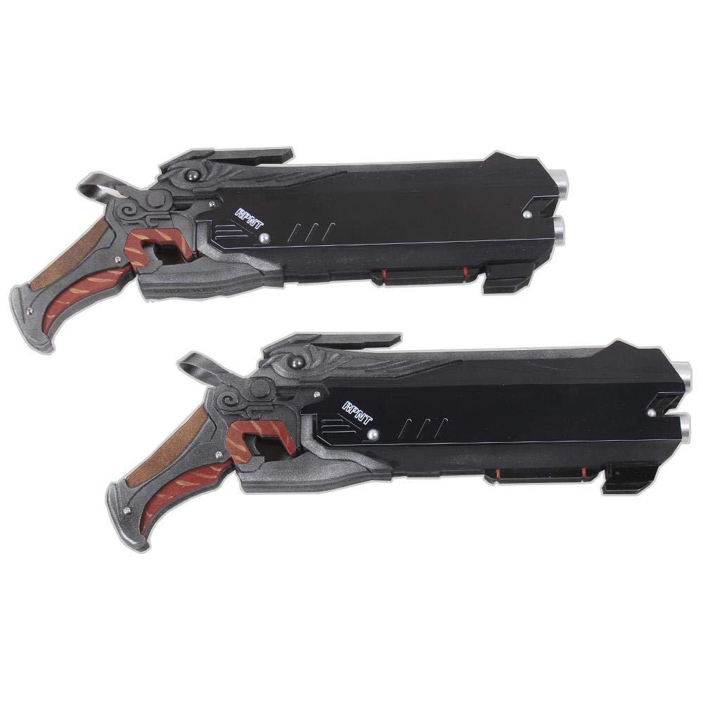 calidad fantástica 79cos Overwatch Cosplay Prop Reaper Hellfire S caliente guns guns guns  a precios asequibles