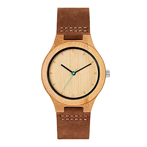 MAM Originals · Boreas Bamboo | Women's Watch | Minimalist Design | Watch Made from sustainably Sourced Bamboo | Superior Quality at an Affordable Price