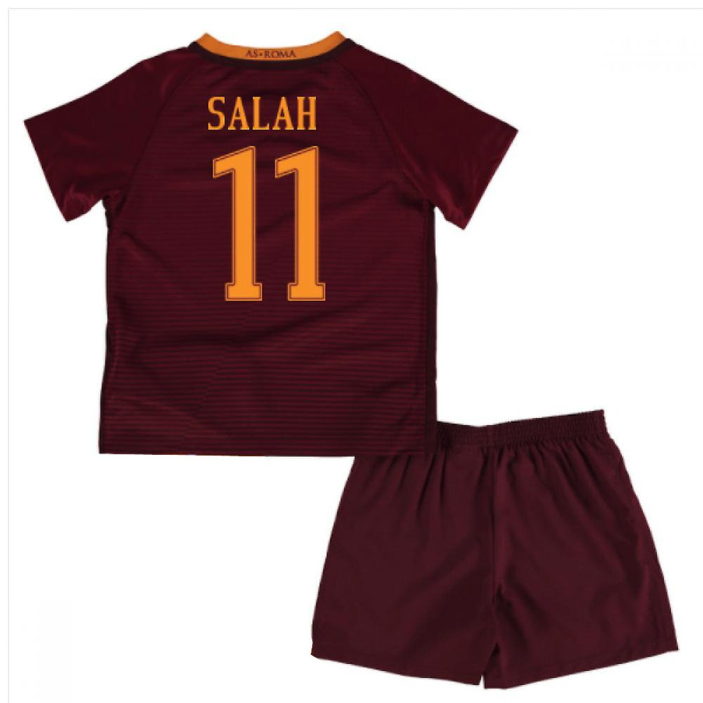 cheap for discount 34064 31b04 AS Roma 11 Mohamed Salah Home Soccer Football Jersey Kids ...