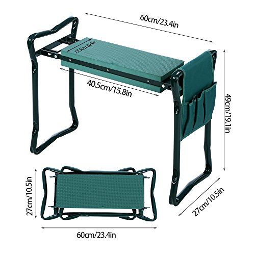 Review Meditool Folding Garden Kneeler