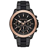 Michael Kors Mens Chronograph Quartz Watch with Stainless Steel Strap MK8666