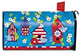 Briarwood Lane Patriotic Birds Primitive Magnetic Mailbox Cover USA Standard