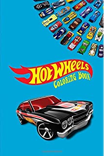 Amazon.com: Crayola Hot Wheels Coloring and Activity Book with ...