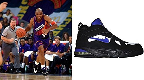 Suns Charles Barkley Signed Game Used Nike Air Force Max CB