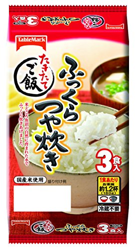 TableMark cooked rice plump glossy cook three meals ~ 8 pack (per meal 180g) by TableMark