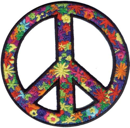 (Application Flower Power Peace Patch)