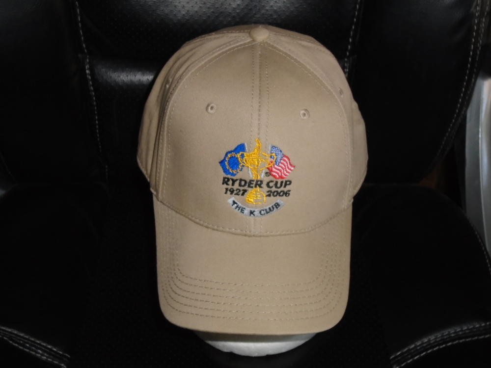 2006 RYDER CUP ADJUSTABLE ADULT STRAPBACK GOLF HAT NEW WITHOUT TAGS
